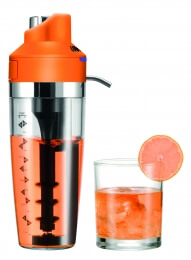 Unold Cocktail Shaker BARKEEPER orange