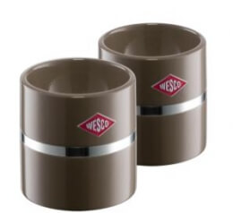 Wesco Eierbecher-Set warmgrau