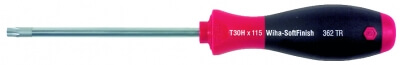 Wiha SoftFinish TORX Tamper Resistant-Schraubendreher T20H x 100 mm