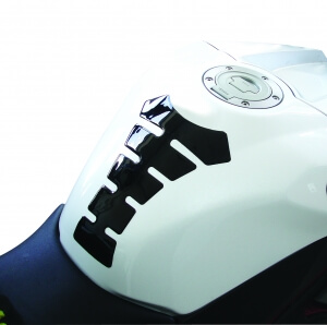 Oxford Tankpads Gel Spine carbonlook