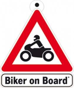 Aufkleber Biker on Board