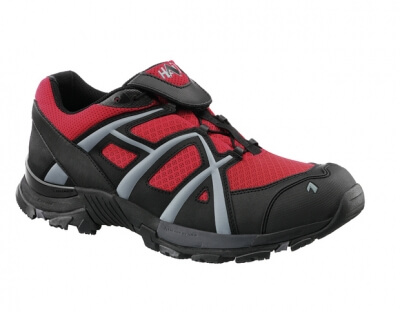 Haix Black Eagle Adventure 30 Flame Low Gr.10,5 schw./rot