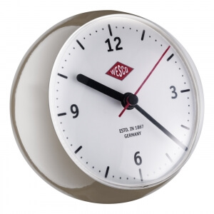 Wesco Mini Clock warm grey