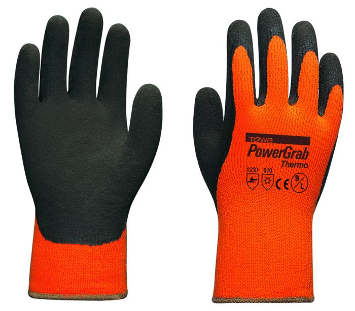 Handschuhe PowerGrab Thermo Gr��e 8