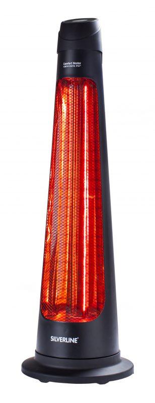 silverline infrarot terrassen heizstrahler ipx4 1200 watt silber hammerkauf. Black Bedroom Furniture Sets. Home Design Ideas