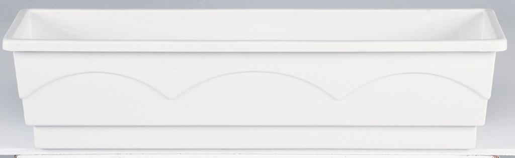 emsa lago blumenkasten ac 100 cm weiss hammerkauf. Black Bedroom Furniture Sets. Home Design Ideas