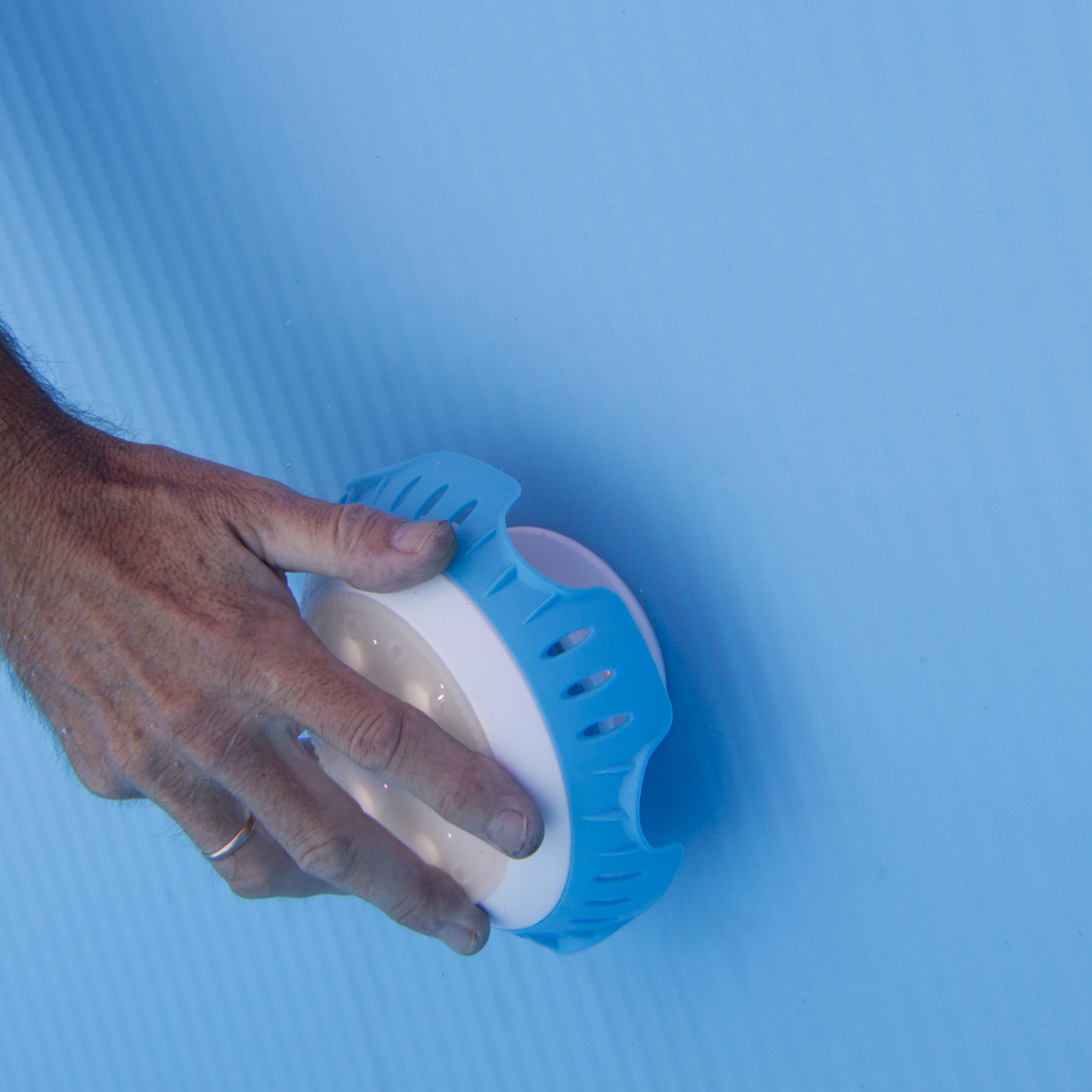 Gre led pojektor weiss zur befestigung an das for Aufstellbare schwimmbecken