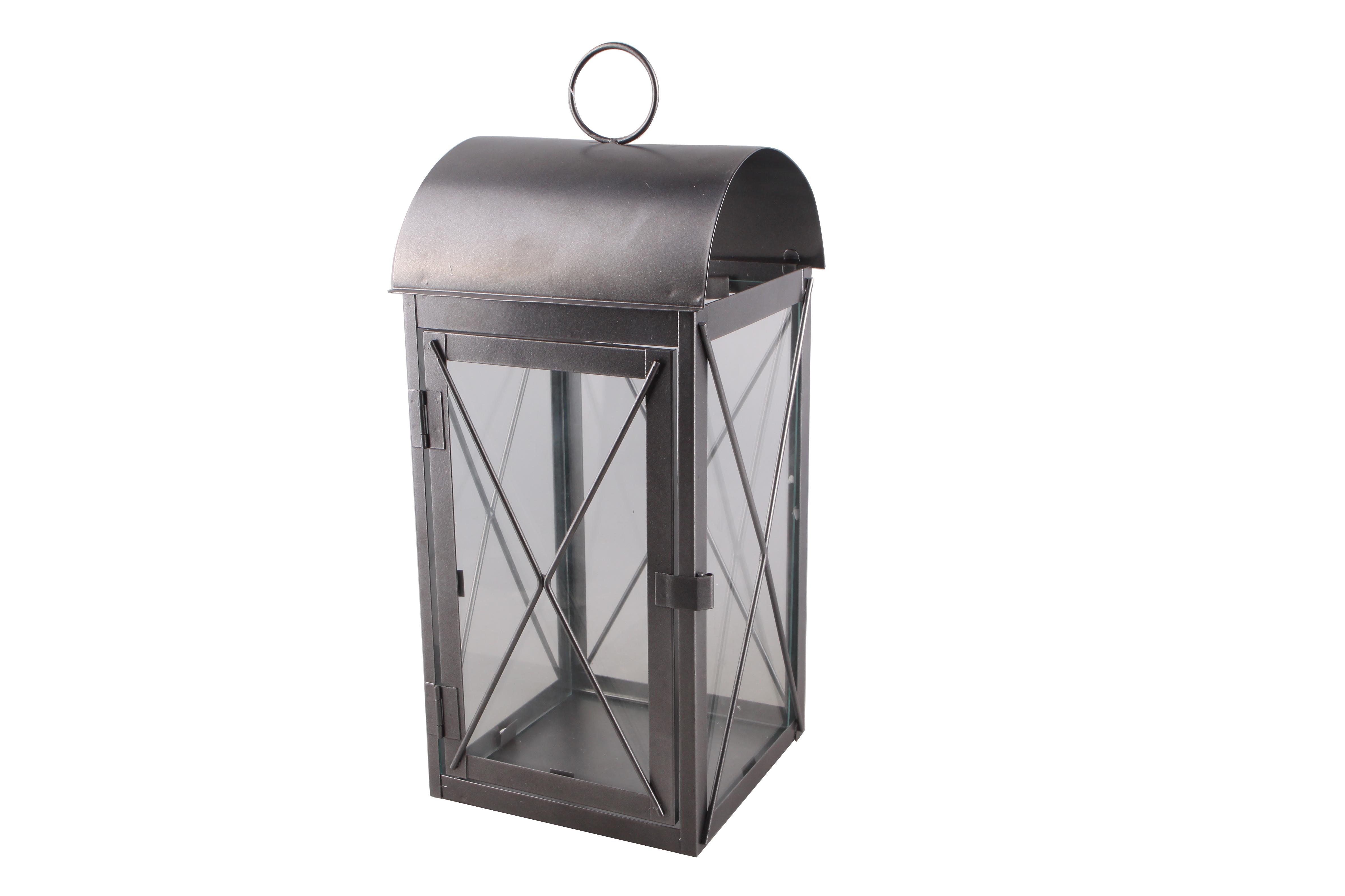 gardenlife laterne aus metall kreuz halbrund hammerkauf. Black Bedroom Furniture Sets. Home Design Ideas