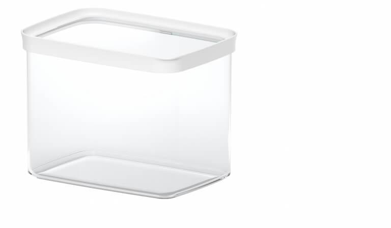 emsa trockenvorratsdose optima 4er set transparent weib preise und angebote emsa. Black Bedroom Furniture Sets. Home Design Ideas