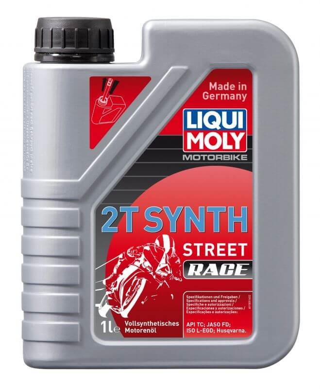 LIQUI MOLY Motorbike 2T Synth Street Race 1L Motoröl