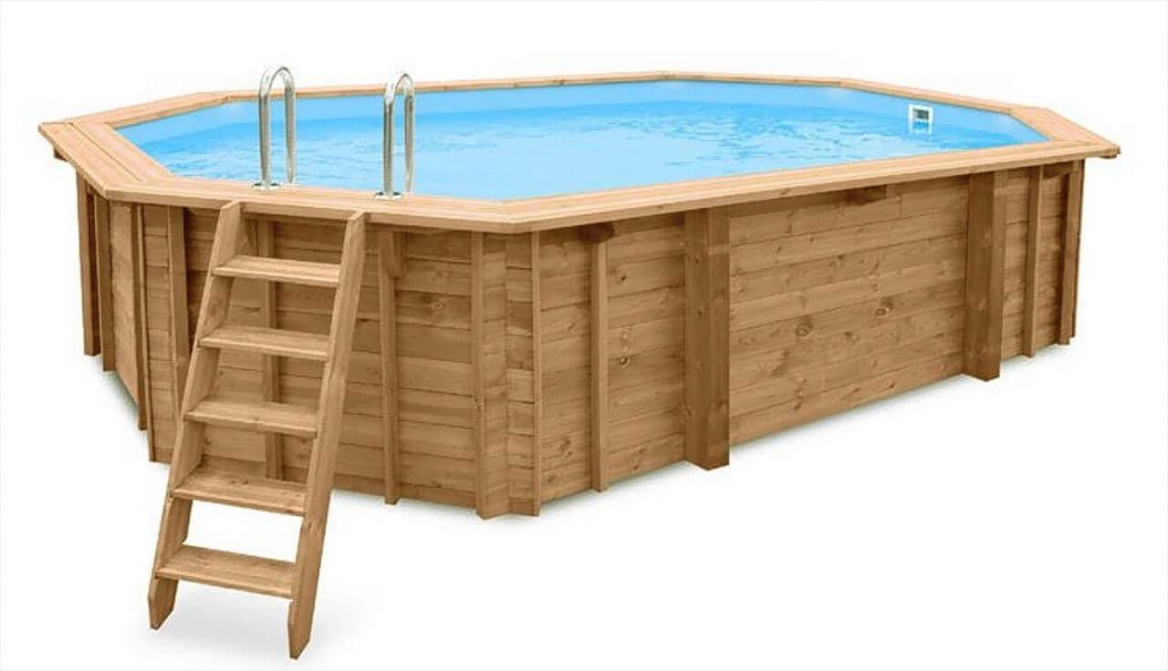 Rabatt heim garten pool spa pools for Holzpool obi