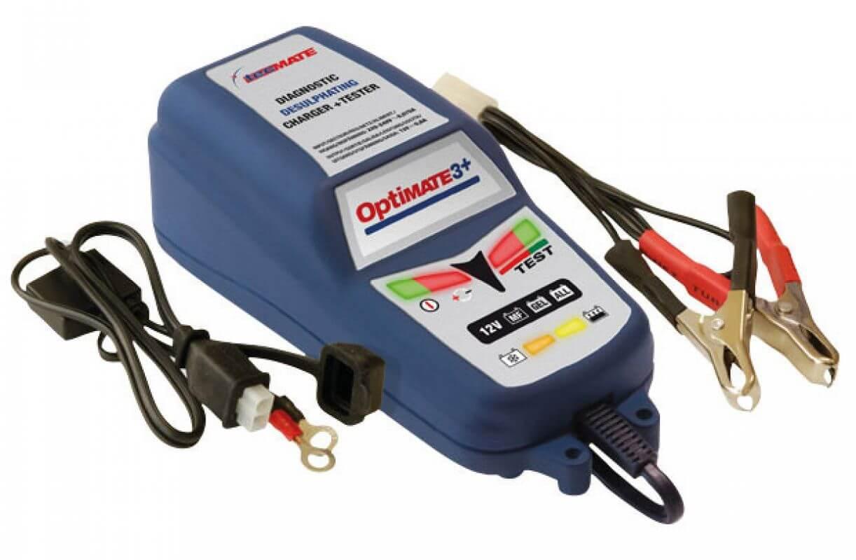 OptiMate 3 12V Batterie Ladegerät Testgerät