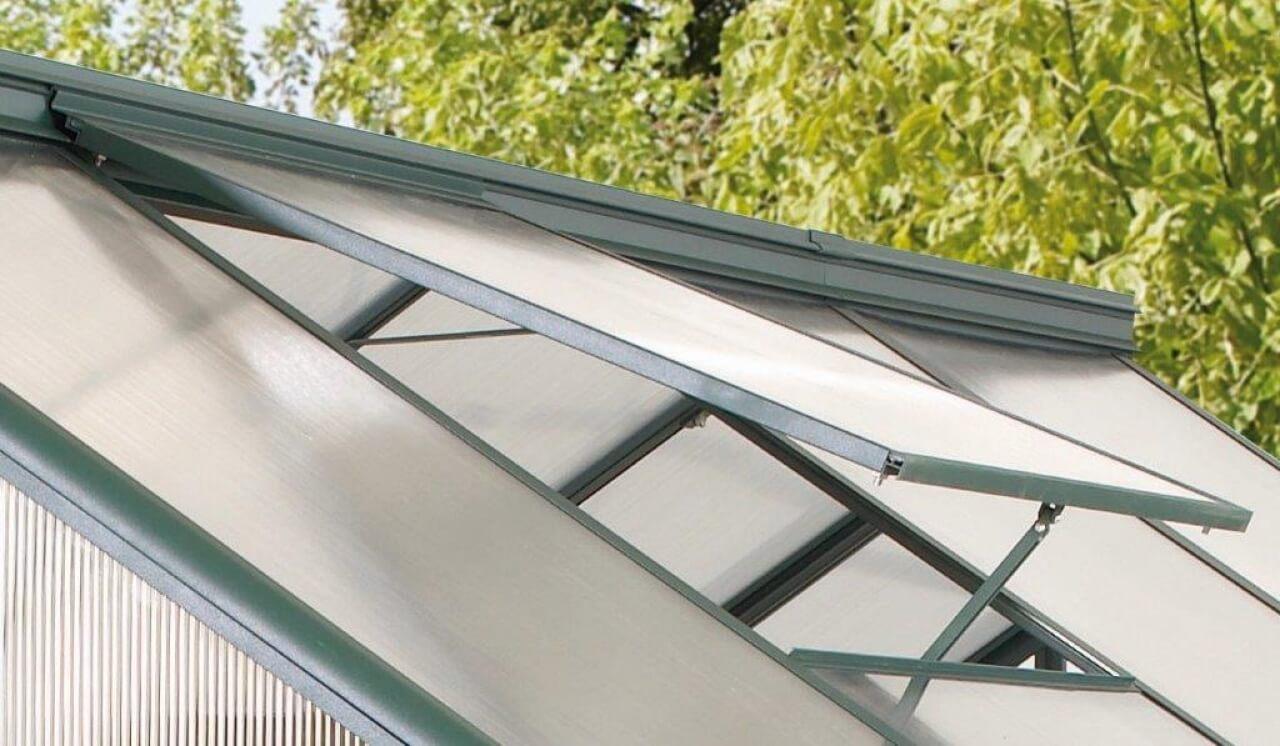 Vitavia Alu-Dachfenster Triton, ohne Glas, grün
