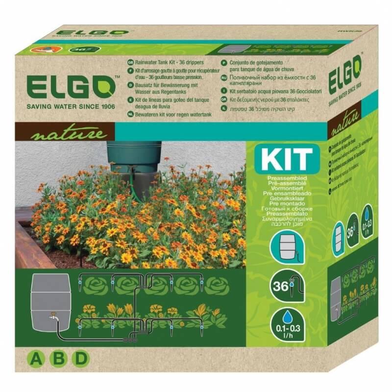 Elgo Bewässerungskit RWK36 für Regentonne