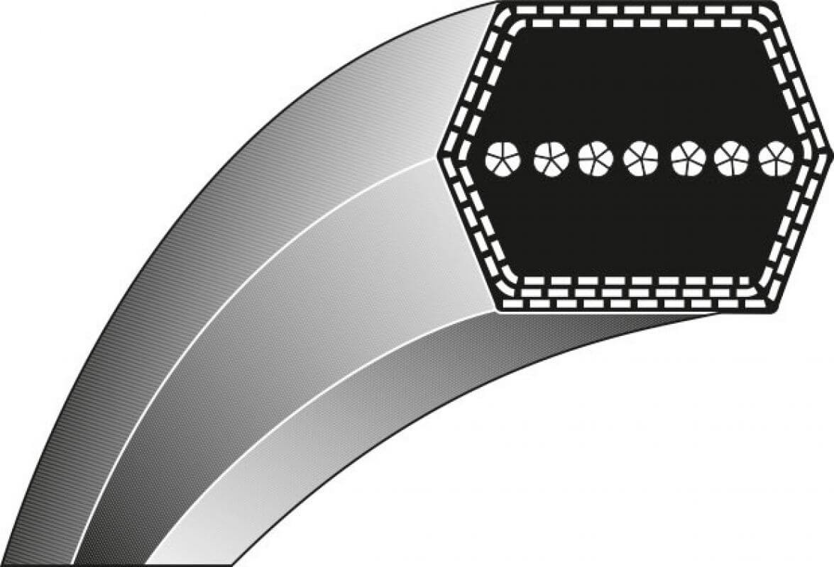 Antriebsriemen Typ 1-12,7 x 2388 Keilriemen