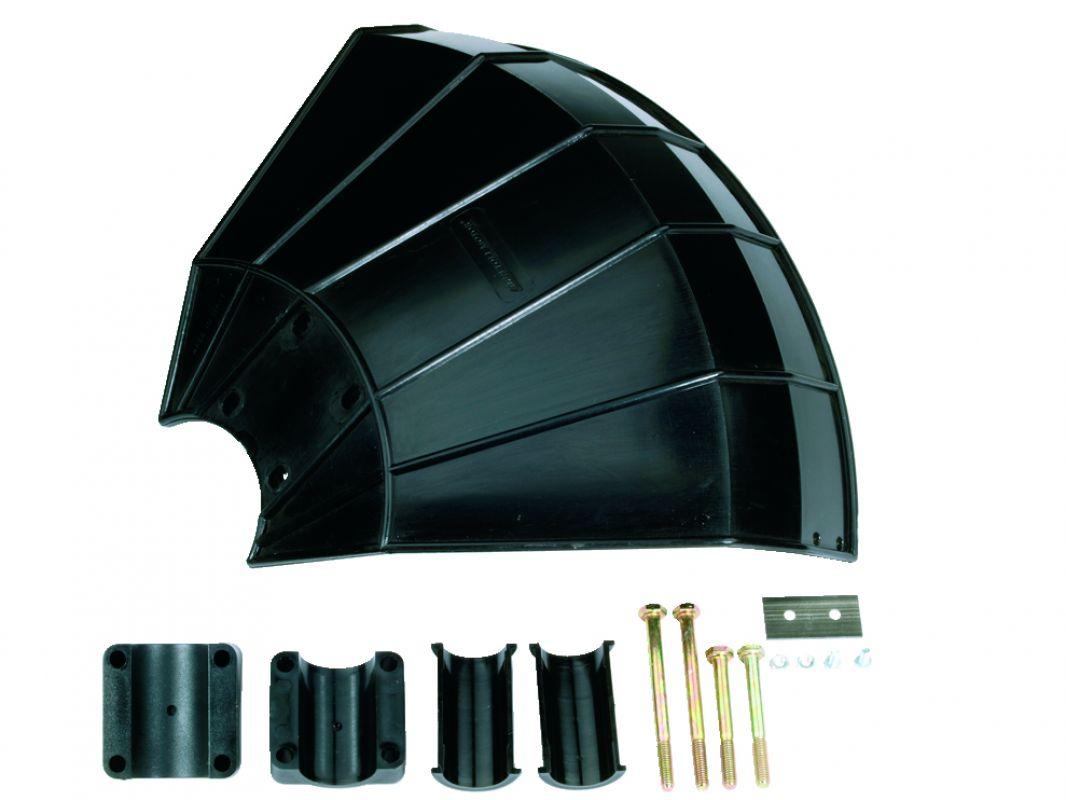 Messerschutz Steinschutz Metall für Freischneider Rohr Ø 24-26mm