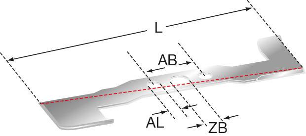 Rasenmähermesser 370 mm Bohrung-Ø 35,0 mm Rund Stärke 3,8 mm