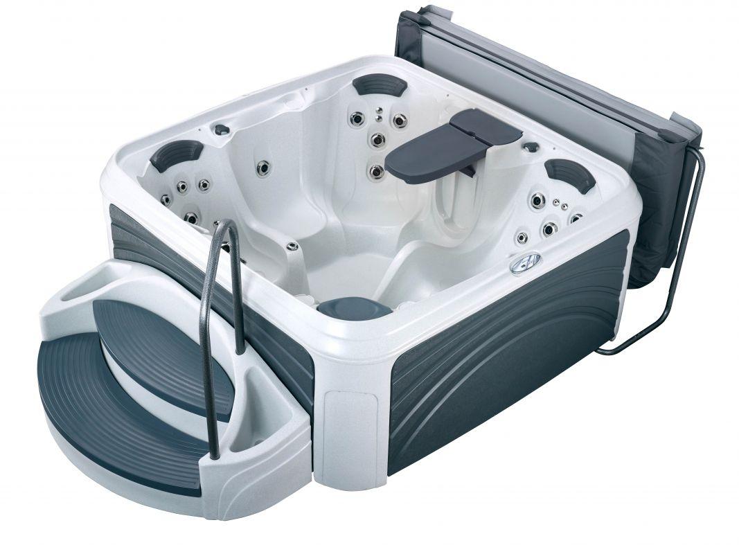 Whirlpool Dreammaker Suitespa Cabana 3500 L White Diamond / Grey