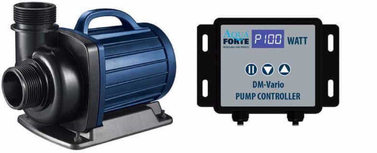 AquaForte regelbare Teichpumpe DM-220000S Vario inkl. Kontroller