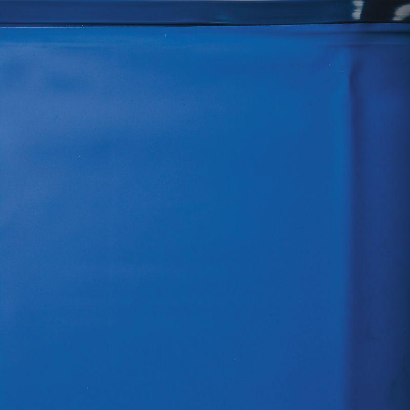 Poolfolie blau rund Einhängebiese 40/100 Ø 460 x 132 cm