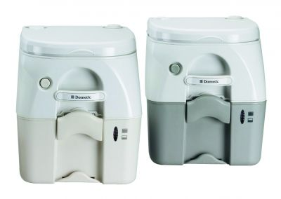 Dometic portable Toilette in weiß/beige 976