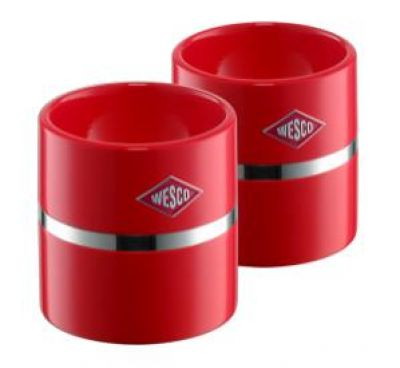 Wesco Eierbecher-Set rot