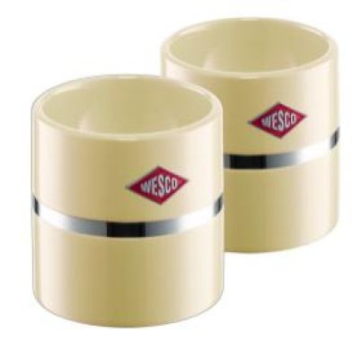 Wesco Eierbecher-Set mandel