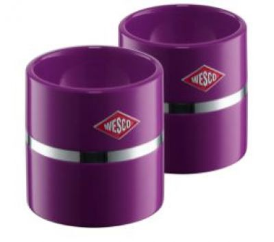 Wesco Eierbecher-Set brombeere