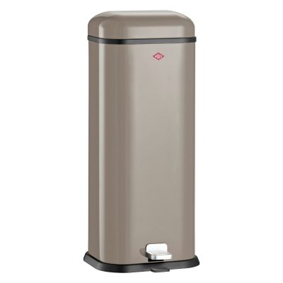 Wesco Superboy 20l Mülleimer warm grey