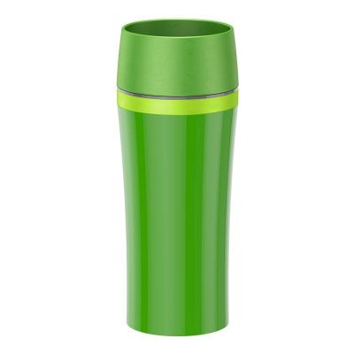 Emsa TRAVEL MUG FUN Isolierbecher, Dunkelgr�n/Gr�n, 0,36 L