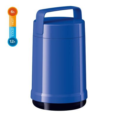 Emsa ROCKET THERMO LUNCH Speise-Isoliergefäß, Blau, 1,0 L