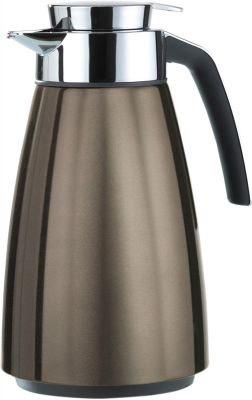 Emsa BELL Isolierkanne Quick Tip, Chocolate metallic, 1,5 L