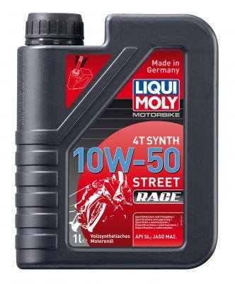 LIQUI MOLY 4T Synth 10W-50 Race Motoröl 1L