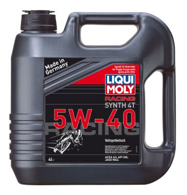 LIQUI MOLY 4T Synth 5 W-40 Race 4L