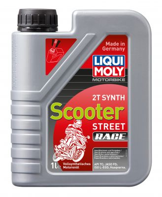 LIQUI MOLY 2T Synth Scooter Race 1L Motoröl