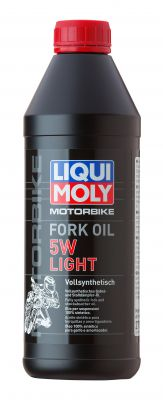 LIQUI MOLY Motorbike Fork Oil 5W Light 1L