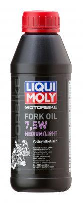 LIQUI MOLY Motorbike Fork Oil 7,5W medium 1L
