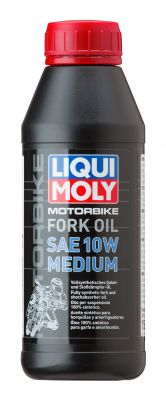 LIQUI MOLY Motorbike Fork Oil 10W Medium 500ml