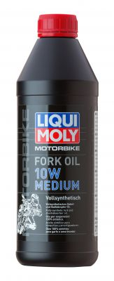 LIQUI MOLY Motorbike Fork Oil 10W Medium 1L