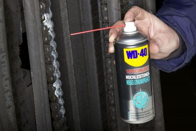 WD-40 Hochleistungs-Lithiumspr�hfett wei� 400ml