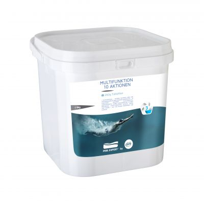 GRE Pool Multifunktion 10 in 1 Aktionen 250g Tabletten 5 kg