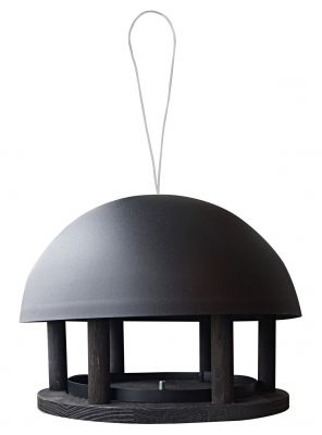 Gardenlife, Futterhaus Dome Black Hanging