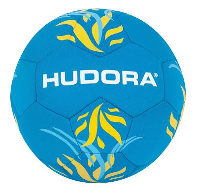 Hudora Beachball Softgrip, Gr. 5, unaufgepumpt