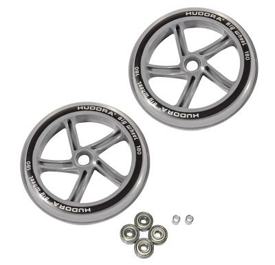 Ersatzrollenset für HUDORA Big Wheel, 180 mm, transparent