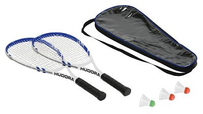 Hudora Badmintonset Speed HD-55