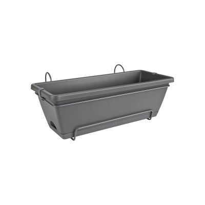 Elho Barcelona trough all-in-1 50 anthrazit Blumenkasten