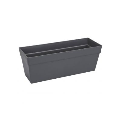 Elho Balkonkasten loft urban trough 50 anthrazit