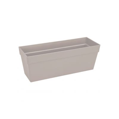 Elho Balkonkasten loft urban trough 50 warmes grau