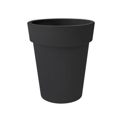 Elho green basics top planter hoch 35 lebhaft schwarz