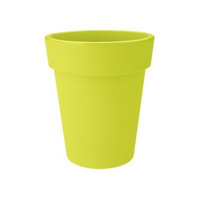 Elho green basics top planter hoch 35 lime grün
